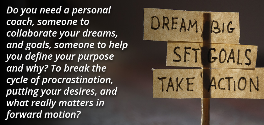 Do you need a personal coach...